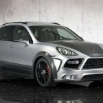 2011 Mansory Porsche Cayenne Turbo Front angle view