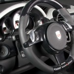 2011 Mansory Porsche Cayenne Turbo Interior Steering wheel