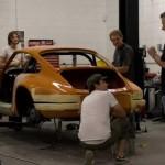 Porsche 911 Singer Design production Rear view