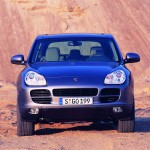 Porsche Cayenne 2004 1600x1200 wallpaper Front view