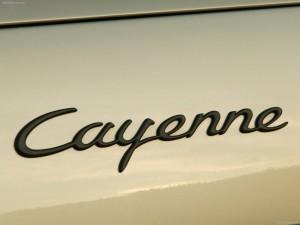 Porsche Cayenne 2004 1600x1200 wallpaper Sign