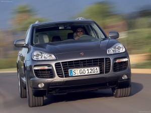 Porsche Cayenne 2008 1600x1200 wallpaper Front view