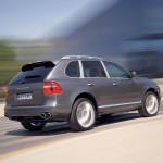 Porsche Cayenne 2008 1600x1200 wallpaper Rear angle view