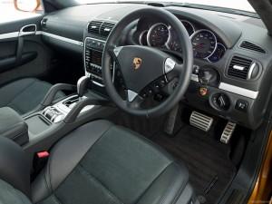 Porsche Cayenne 2008 1600x1200 wallpaper Interior