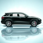 Porsche Cayenne 2011 1600x1200 wallpaper Side view