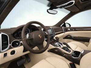 Porsche Cayenne 2011 1600x1200 wallpaper Interior