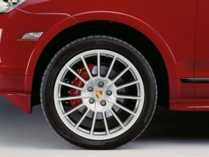 Red Porsche Cayenne GTS 2008 1600x1200 wallpaper Wheel