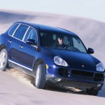 Porsche Cayenne S 2004 1600x1200 wallpaper Front angle view