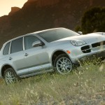 Porsche Cayenne S 2004 1600x1200 wallpaper Side angle view