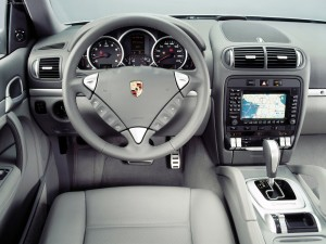Porsche Cayenne S 2004 1600x1200 wallpaper Interior