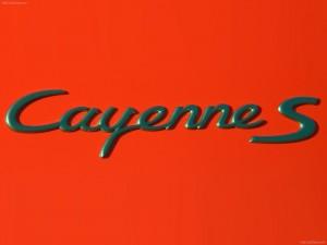 Red Porsche Cayenne S Titanium 2006 1600x1200 wallpaper Sign