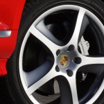 Red Porsche Cayenne S Titanium 2006 1600x1200 wallpaper Wheel