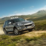 Umber Metallic Porsche Cayenne S Transsyberia 2010 1600x1200 wallpaper Front angle view