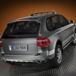Umber Metallic Porsche Cayenne S Transsyberia 2010 1600x1200 wallpaper Rear angle view