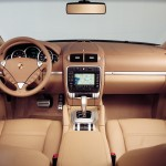 Porsche Cayenne Turbo 2004 1600x1200 wallpaper Interior