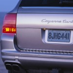 Porsche Cayenne Turbo 2004 1600x1200 wallpaper Rear corner view