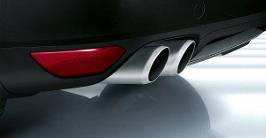 Jet Black Metallic Porsche Cayenne Turbo 2011 3000x1560 wallpaper Exhaust