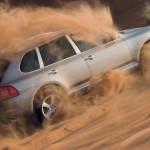 Umber Metallic Porsche Cayenne Turbo S 2006 1600x1200 wallpaper Side view