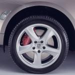 Umber Metallic Porsche Cayenne Turbo S 2006 1600x1200 wallpaper Wheel