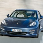Porsche Panamera 2010 1600x1200 wallpaper Front view
