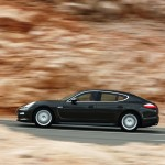 Porsche Panamera 2010 1600x1200 wallpaper Side view
