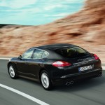 Porsche Panamera 2010 1600x1200 wallpaper Rear angle view