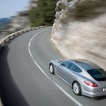 Porsche Panamera 2010 1600x1200 wallpaper Rear angle top view