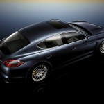 Porsche Panamera 2010 1600x1200 wallpaper Side angle top view