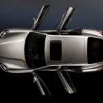 Porsche Panamera 2010 1600x1200 wallpaper Top view