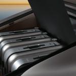 GT Silver Metallic Porsche Panamera Turbo 2011 wallpaper