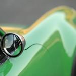2011 Singer Racing Green Porsche 911 Mirror
