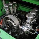 2011 Singer Racing Green Porsche 911 Engine
