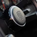 2011 Singer Racing Green Porsche 911 Interior Steering wheel