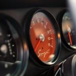 2011 Singer Racing Green Porsche 911 Interior Dashboard