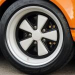 Singer Racing Orange Porsche 911 Wheel