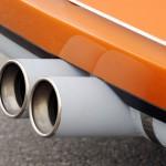 Singer Racing Orange Porsche 911 Exhaust