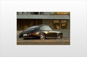 Steve McQueen 1970 Porsche 911s Rear angle view