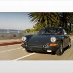 Steve McQueen 1970 porsche 911s Front view