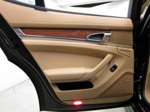 Sylvester Stallone's 2010 black Porsche Panamera 4S Interior