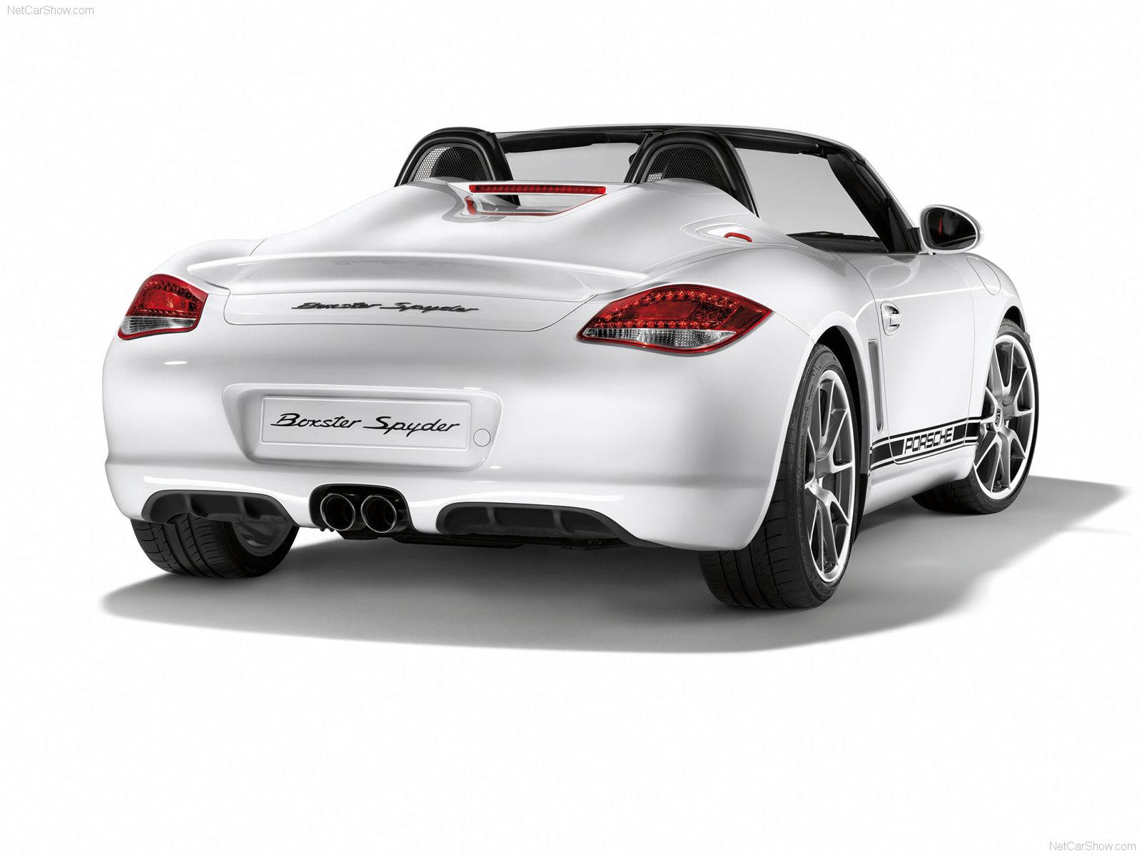 2010 Porsche Boxster Spyder Wallpapers