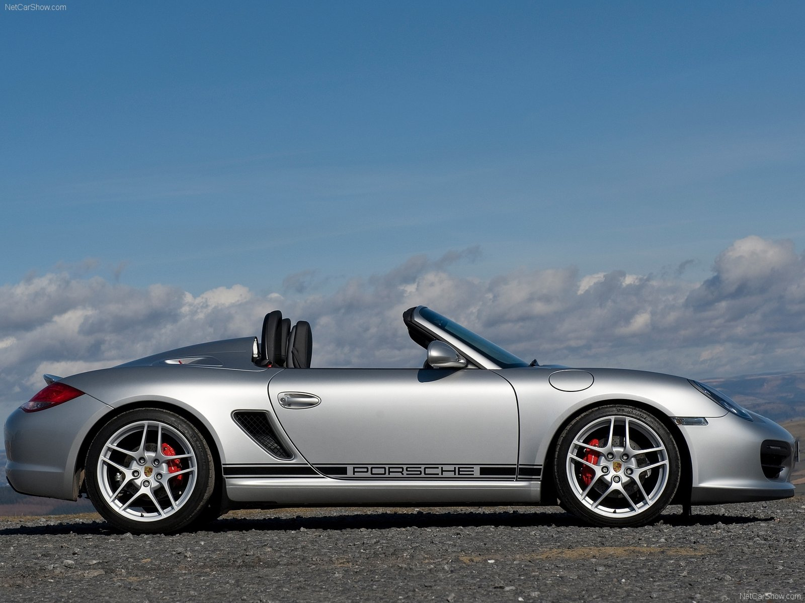 2010 Porsche Boxster Spyder Wallpapers