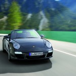 2011 Black Porsche 911 Black Edition Wallpaper Front view