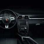 2011 Black Porsche 911 Black Edition Wallpaper Interior