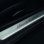 2011 Black Porsche 911 Black Edition Wallpaper Door sill