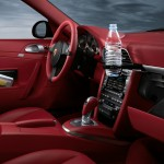 2011 Black Porsche 911 Targa 4S Wallpaper Red interior