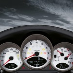2011 Black Porsche 911 Targa 4S Wallpaper Interior Dashboard