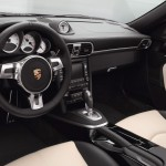 2011 Black Porsche 911 Turbo S Cabriolet Wallpaper Interior