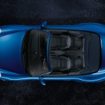 2011 Blue Porsche 911 Carrera 4S Cabriolet Wallpaper Top view