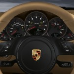 2011 Blue Porsche 911 Carrera 4S Cabriolet Wallpaper Interior Dashboard