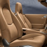 2011 Blue Porsche 911 Carrera 4S Cabriolet Wallpaper Interior Seats